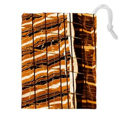 Abstract Architecture Background Drawstring Pouches (xxl) by Nexatart