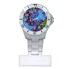 Background Chaos Mess Colorful Plastic Nurses Watch