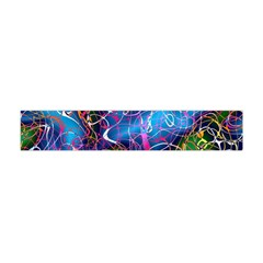 Background Chaos Mess Colorful Flano Scarf (mini)