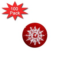 Background Christmas Star 1  Mini Magnets (100 Pack)  by Nexatart