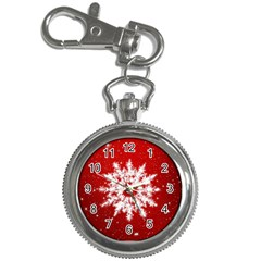 Background Christmas Star Key Chain Watches by Nexatart