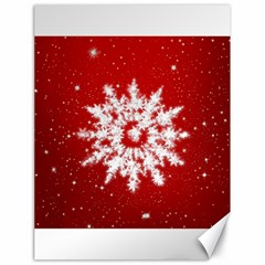Background Christmas Star Canvas 18  X 24