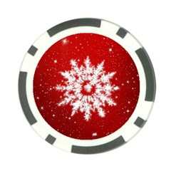 Background Christmas Star Poker Chip Card Guard