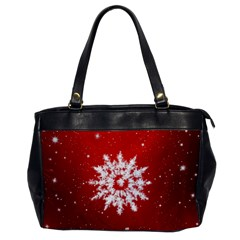 Background Christmas Star Office Handbags by Nexatart