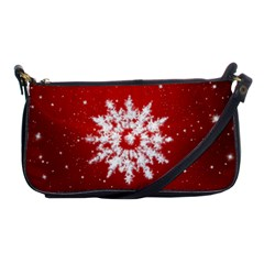 Background Christmas Star Shoulder Clutch Bags