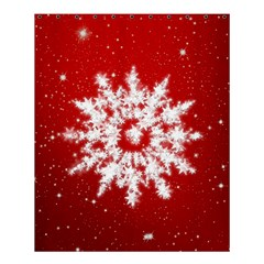 Background Christmas Star Shower Curtain 60  X 72  (medium)  by Nexatart
