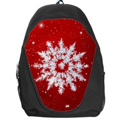 Background Christmas Star Backpack Bag by Nexatart