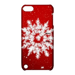 Background Christmas Star Apple Ipod Touch 5 Hardshell Case With Stand