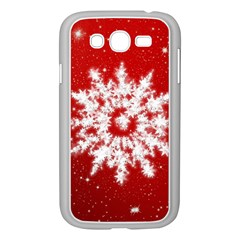 Background Christmas Star Samsung Galaxy Grand Duos I9082 Case (white)