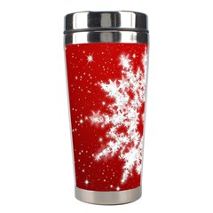 Background Christmas Star Stainless Steel Travel Tumblers by Nexatart
