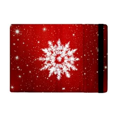 Background Christmas Star Ipad Mini 2 Flip Cases
