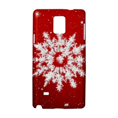 Background Christmas Star Samsung Galaxy Note 4 Hardshell Case