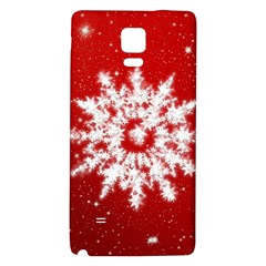 Background Christmas Star Galaxy Note 4 Back Case