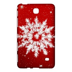 Background Christmas Star Samsung Galaxy Tab 4 (8 ) Hardshell Case