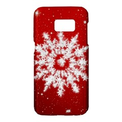 Background Christmas Star Samsung Galaxy S7 Hardshell Case  by Nexatart
