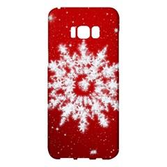 Background Christmas Star Samsung Galaxy S8 Plus Hardshell Case