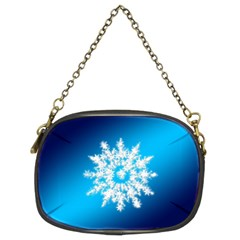 Background Christmas Star Chain Purses (two Sides)  by Nexatart