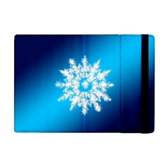 Background Christmas Star Apple Ipad Mini Flip Case by Nexatart