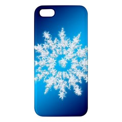 Background Christmas Star Apple Iphone 5 Premium Hardshell Case by Nexatart
