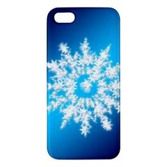 Background Christmas Star Iphone 5s/ Se Premium Hardshell Case by Nexatart