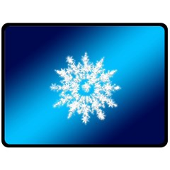 Background Christmas Star Double Sided Fleece Blanket (large)  by Nexatart