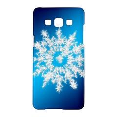 Background Christmas Star Samsung Galaxy A5 Hardshell Case