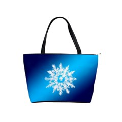 Background Christmas Star Shoulder Handbags by Nexatart