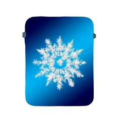 Background Christmas Star Apple Ipad 2/3/4 Protective Soft Cases by Nexatart