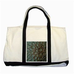 Drop Of Water Condensation Fractal Two Tone Tote Bag