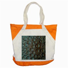 Drop Of Water Condensation Fractal Accent Tote Bag by Nexatart