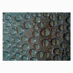 Drop Of Water Condensation Fractal Large Glasses Cloth (2 Side)