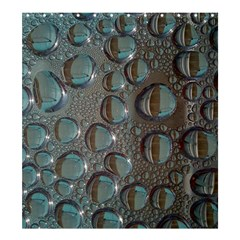 Drop Of Water Condensation Fractal Shower Curtain 66  X 72  (large)  by Nexatart