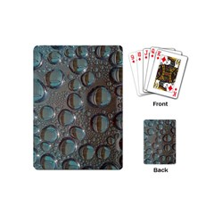 Drop Of Water Condensation Fractal Playing Cards (mini)