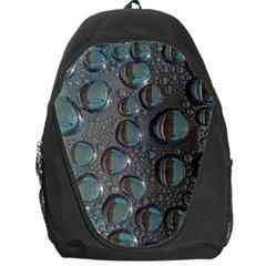 Drop Of Water Condensation Fractal Backpack Bag