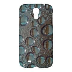 Drop Of Water Condensation Fractal Samsung Galaxy S4 I9500/i9505 Hardshell Case by Nexatart