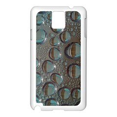 Drop Of Water Condensation Fractal Samsung Galaxy Note 3 N9005 Case (white)