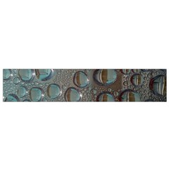 Drop Of Water Condensation Fractal Flano Scarf (small) by Nexatart