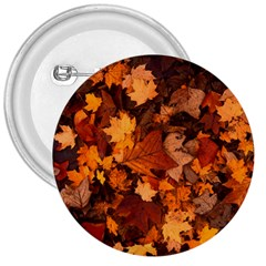 Fall Foliage Autumn Leaves October 3  Buttons