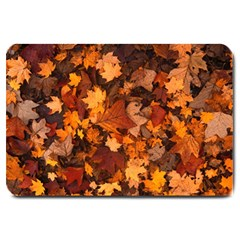 Fall Foliage Autumn Leaves October Large Doormat