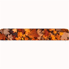 Fall Foliage Autumn Leaves October Small Bar Mats by Nexatart