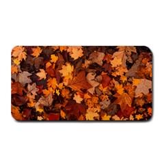 Fall Foliage Autumn Leaves October Medium Bar Mats by Nexatart