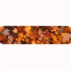 Fall Foliage Autumn Leaves October Large Bar Mats by Nexatart