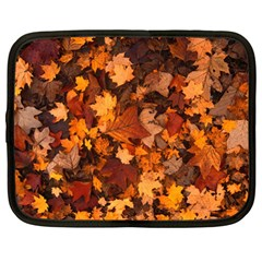 Fall Foliage Autumn Leaves October Netbook Case (large) by Nexatart