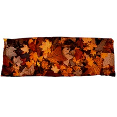 Fall Foliage Autumn Leaves October Body Pillow Case Dakimakura (two Sides) by Nexatart