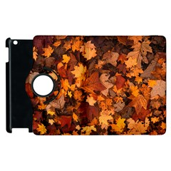 Fall Foliage Autumn Leaves October Apple Ipad 2 Flip 360 Case by Nexatart