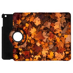 Fall Foliage Autumn Leaves October Apple Ipad Mini Flip 360 Case by Nexatart