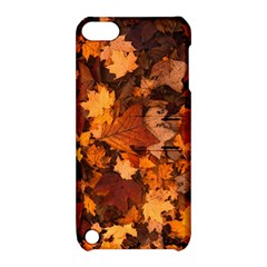 Fall Foliage Autumn Leaves October Apple Ipod Touch 5 Hardshell Case With Stand by Nexatart