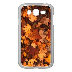 Fall Foliage Autumn Leaves October Samsung Galaxy Grand Duos I9082 Case (white) by Nexatart
