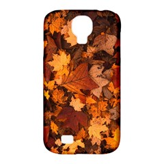 Fall Foliage Autumn Leaves October Samsung Galaxy S4 Classic Hardshell Case (pc+silicone)