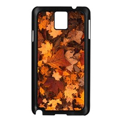 Fall Foliage Autumn Leaves October Samsung Galaxy Note 3 N9005 Case (black) by Nexatart